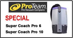 Proteam Backpack Vacuum Sale